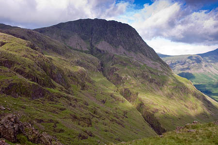 The couple were found close to Piers Gill