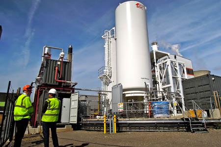 Highview Power Storage's Slough liquid air plant