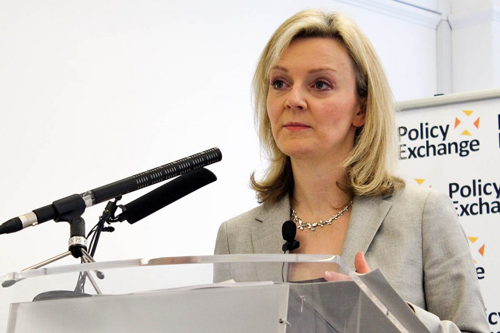 Liz Truss: 'parks are national assets'. Photo: Policy Exchange CC-BY-2.0