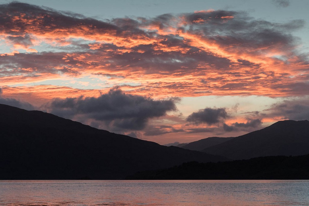 Loch Lomond: a chance to put Vango gear to the test. Photo: Bob Smith/grough