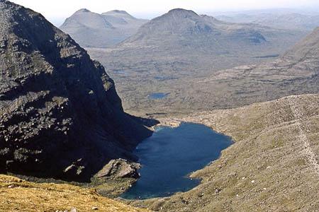 The tent was found near Loch Coire Mhic Fhearchair. Photo: John Proctor CC-BY-SA-2.0