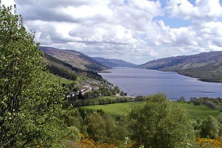 Loch Earn, on the Rob Roy Way. Photo: Walking Scotland