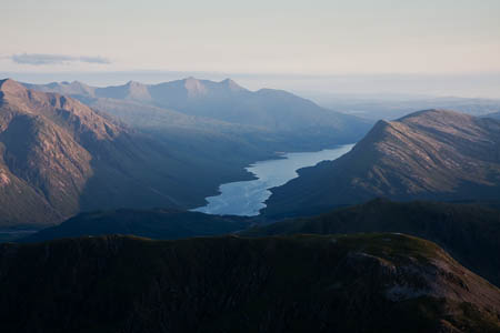 Loch Etive, with Ben Cruachan in the far distance