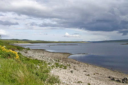 Loch Shin. Photo: Dr EH Mackay CC-BY-SA-2.0