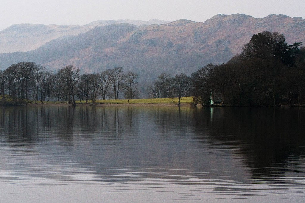 The walker was near the summit of Loughrigg