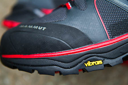The EVA midsole absorbs impact well and helps make the boots comfortable over longer distances