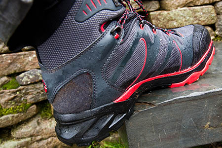 The Mammut T-Aenergy GTX boots performed well in the wet