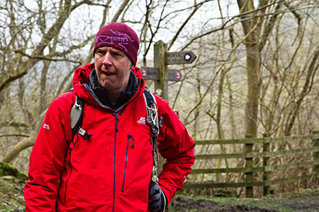 Mark Reid will lead the 24-mile walk