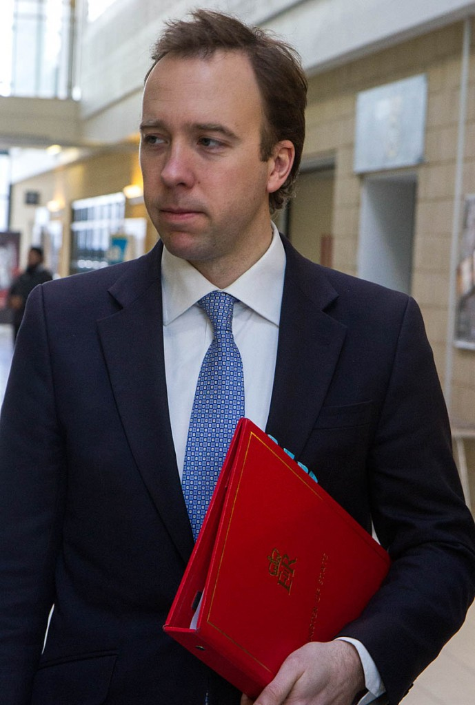 Business and innovation minister Matthew Hancock