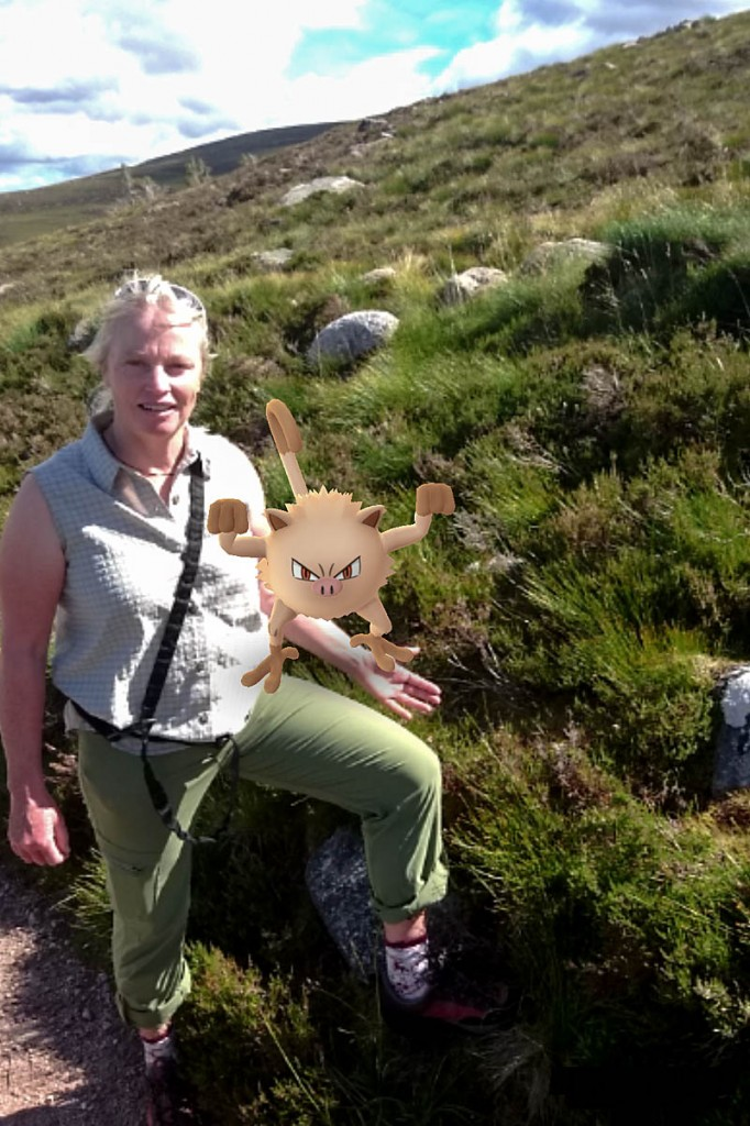 Heather Morning goes Pokémon hunting in the Cairngorms