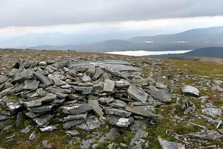The man died near the summit of Meall nam Peithirean. Photo: Trevor Willis CC-BY-SA-2.0