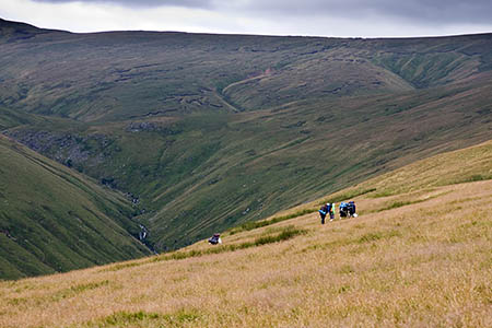 The woman was found near Measand Beck above Haweswater