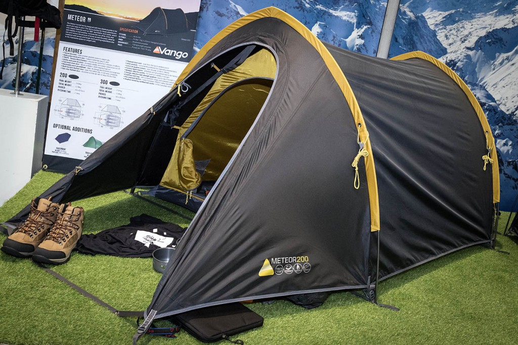 The Vango Meteor 200. Photo: Bob Smith/grough