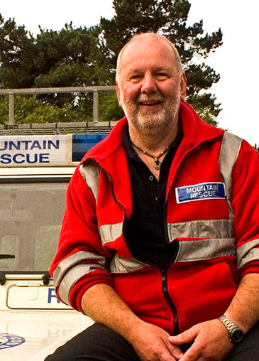 New chair of Mountain Resue England and Wales Mike France