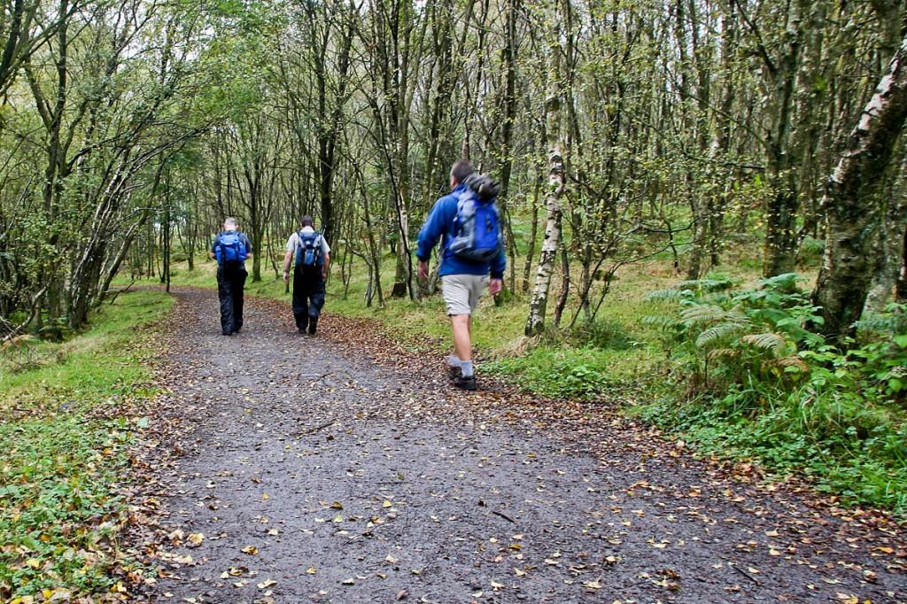 Scotland has plenty of low-level routes, the Ramblers said