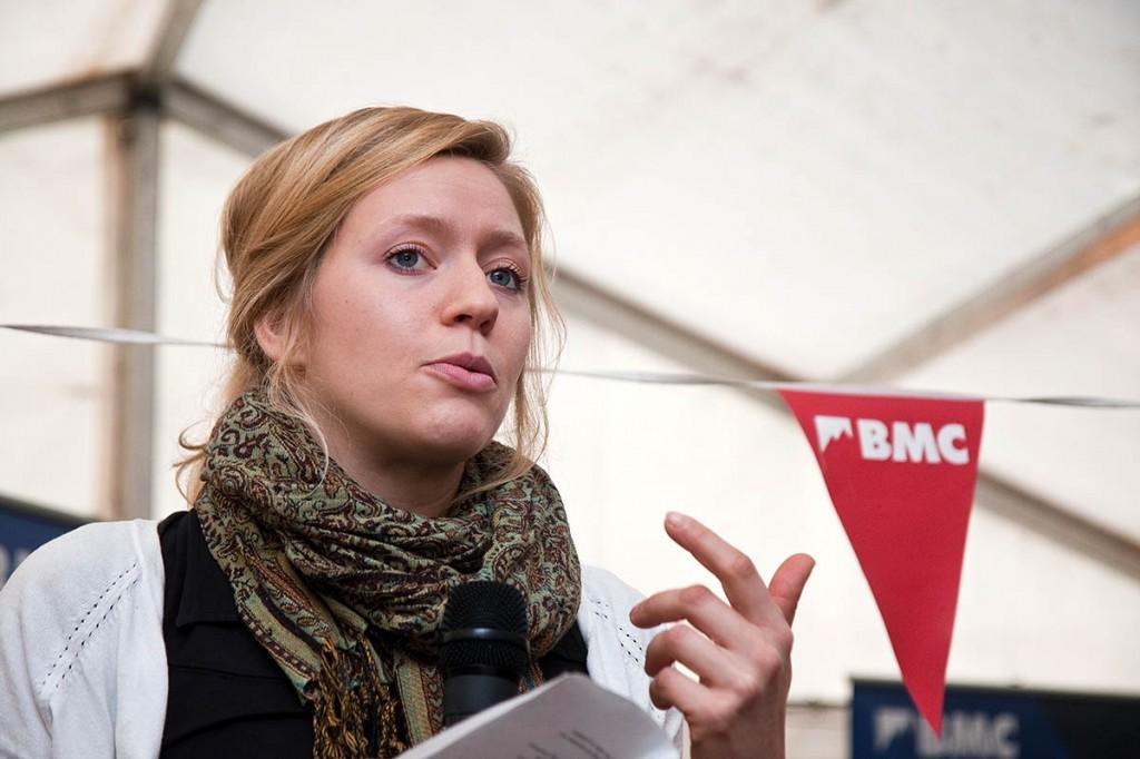 BMC vice-president Mina Leslie-Wujastyk