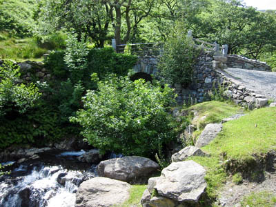 Miner's Bridge and Church Beck, near the Old Man of Coniston