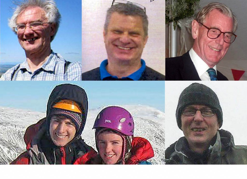 Six walkers and climbers are still missing in the Highlands