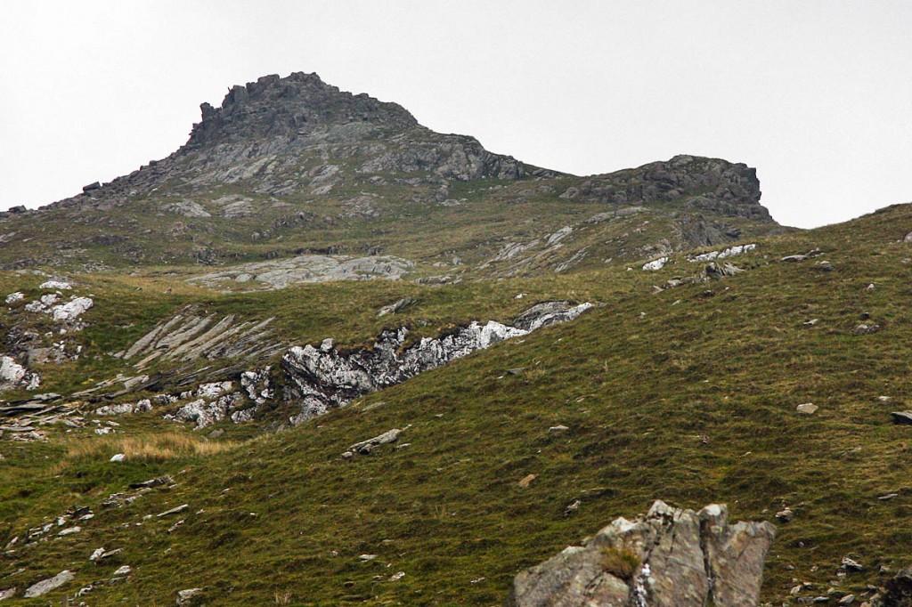 Moelwyn Mawr North Ridge top. Photo: Myrddyn Phillips