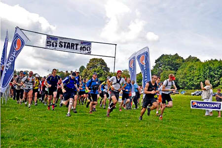Last year's Montane 50 gets underway