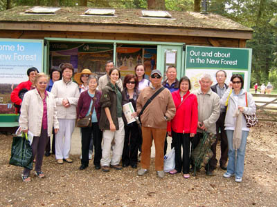 Mosaic Community Champion Andy Lai from the Southampton Chinese Association took a group of 16 people to visit Bolderwood and Brockenhurst in the New Forest earlier this year