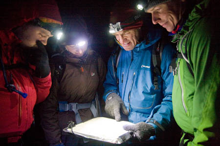 Night navigation is an essential skill for a Mountain Leader
