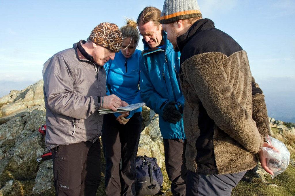 Registration is compulsory for those undertaking Mountain Leader training. Photo: Bob Smith/grough