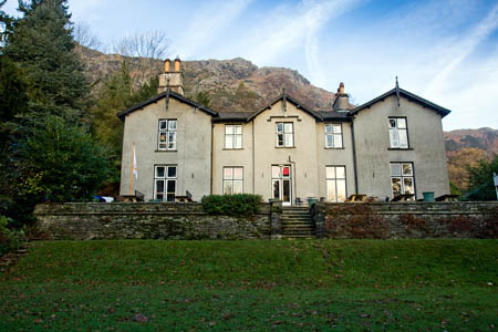 Coniston Youth Hostel was the base for the course