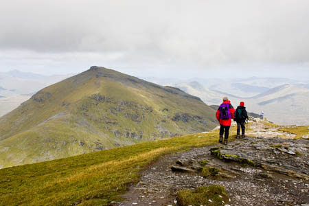 The online guide contains information on all 283 munros