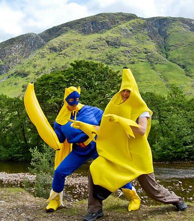 John Muir Trust staff go bananas