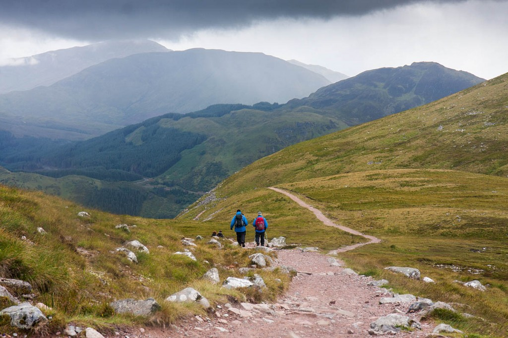 Walkers heading for the Scottish hills should prepare properly, experts said. Photo: Bob Smith/grough