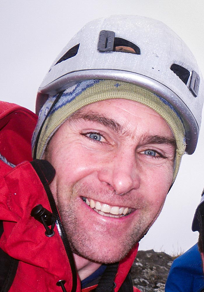 Nick Carter, who will work with students to improve winter mountain safety