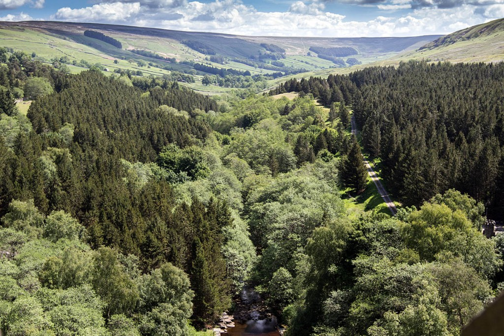 Rescuers were called to the cave in Nidderdale