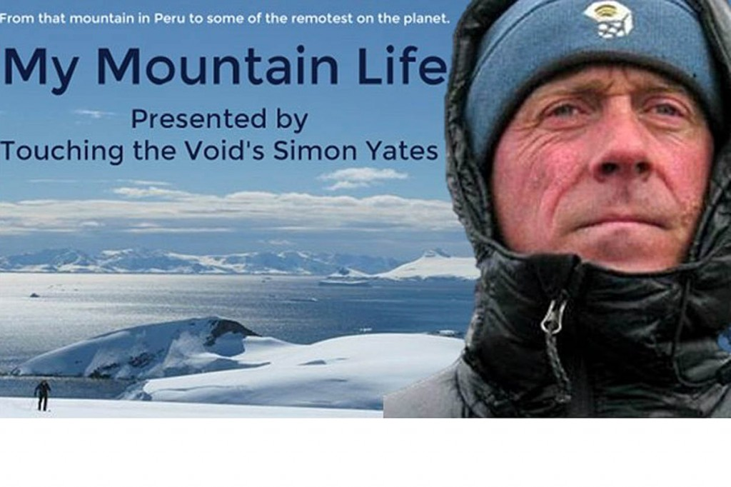 Proceeds from Simon Yates's talk will go to help Northumberland National Park Mountain Rescue Team