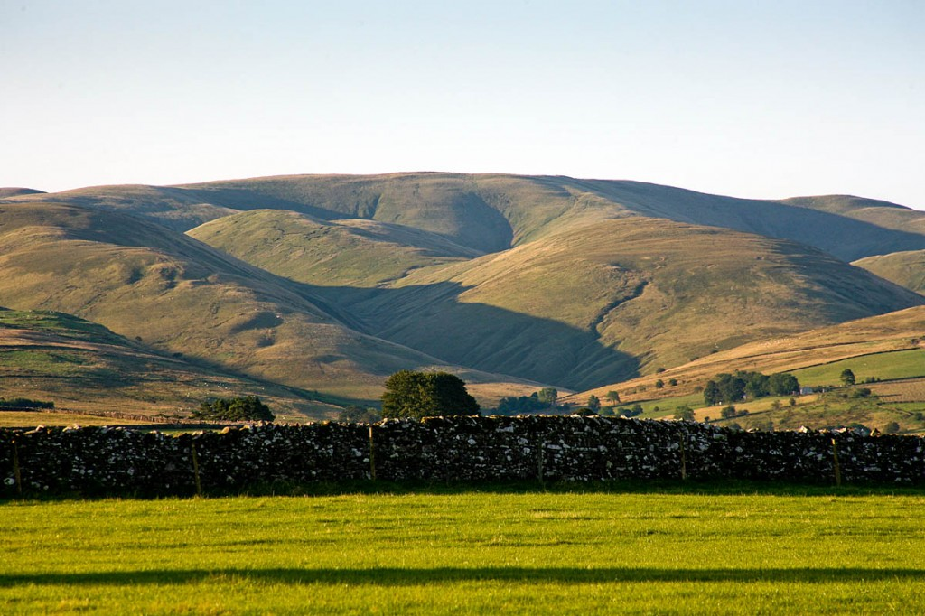 The northern Howgill Fells, one of the areas to be included in an extended Yorkshire Dales park