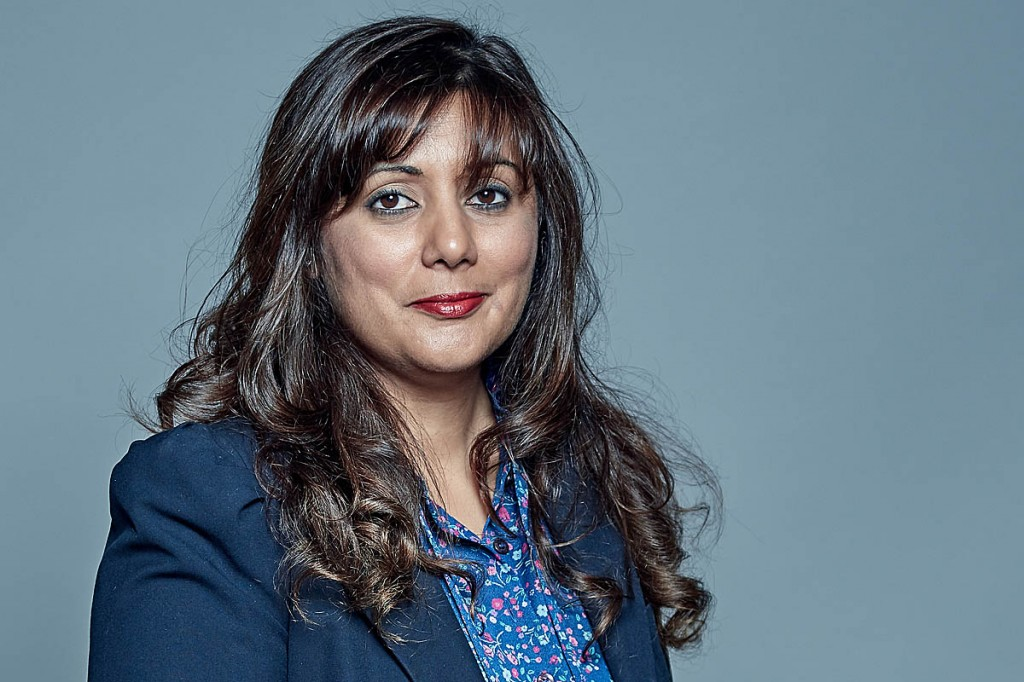 Transport minister Nusrat Ghani. Photo: UK Parliament CC-BY-SA-3.0