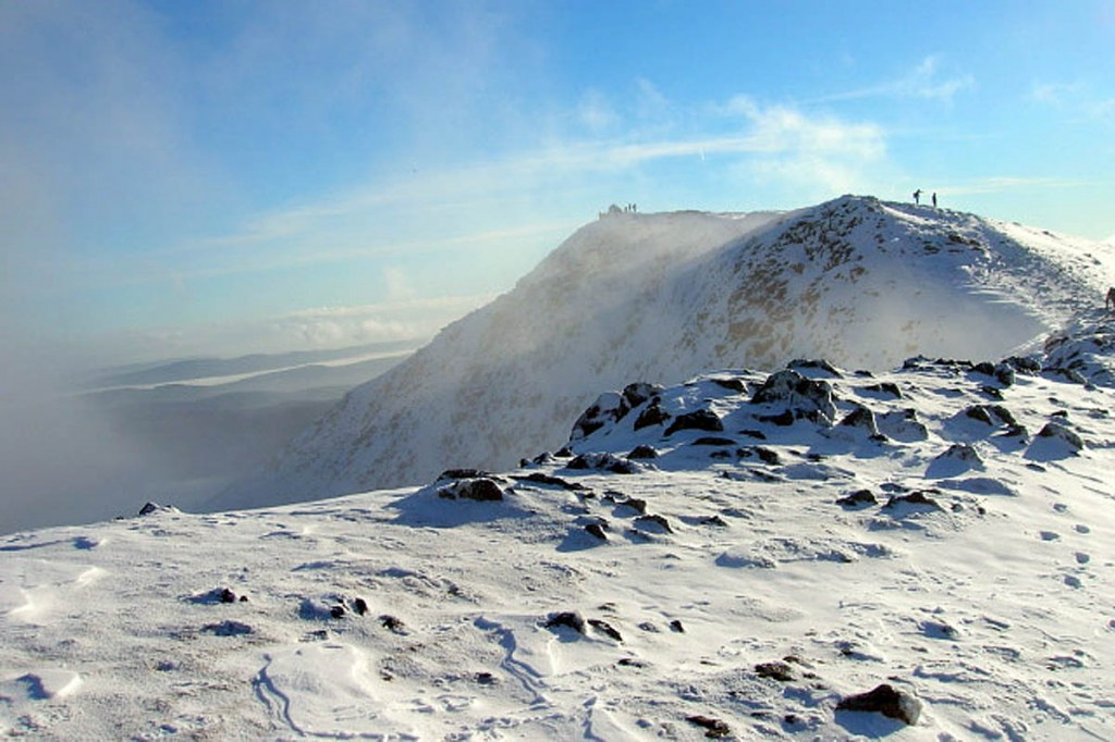 The two walkers got lost on The Old Man of Coniston. Photo: Mick Garratt CC-BY-SA-2.0