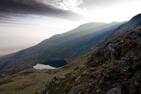 Old Man of Coniston, one of the society's 'holy mountains'