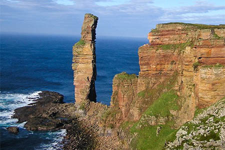 The Old Man of Hoy. Photo: Grinner CC-BY-SA-3.0