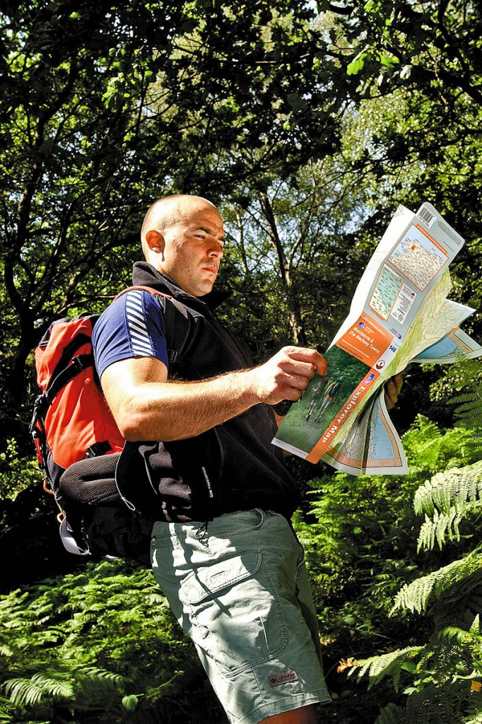 Outdoor Leisure maps are the top sellers