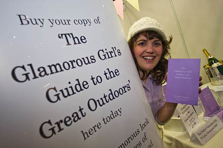 Cassandra Ferguson, author of The Glamorous Girl's Guide to the Great Outdoors