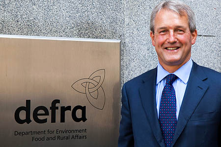 Owen Paterson: help for householders?. Photo: Defra