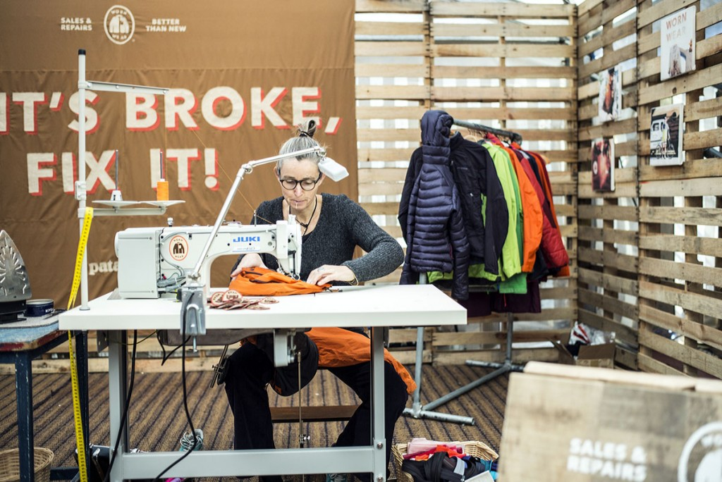 Patagonia's Worn Wear campaign urges outdoor fans to have their gear repaired