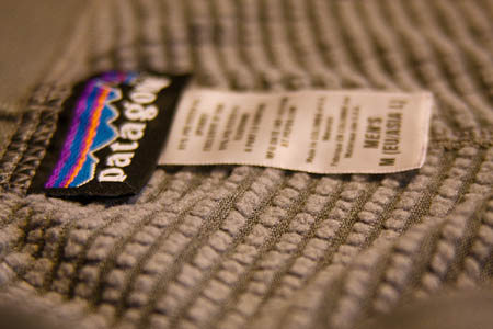 The baselayer is made from Polartec's Power Dry material, with its raised 'touch points'