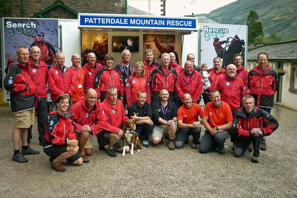 The Patterdale team used the generator at fundraising events