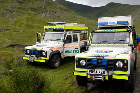 Patterdale MRT members were involved in three rescues today
