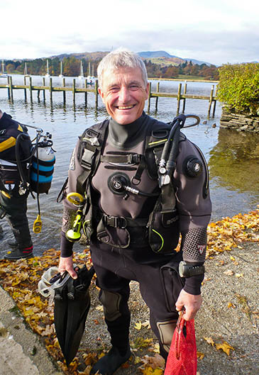 Paul Rose, who will lead the mass dive
