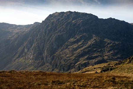 The man was on the lower slopes of Pavey Ark when he injured himself