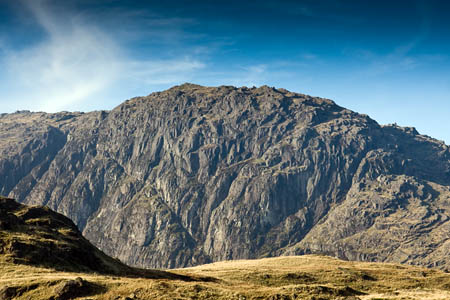 The boy was seriously injured when he fell from Jack's Rake on Pavey Ark
