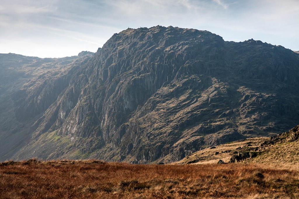 The woman fell from Jack's Rake on Pavey Ark. Photo: Bob Smith/grough